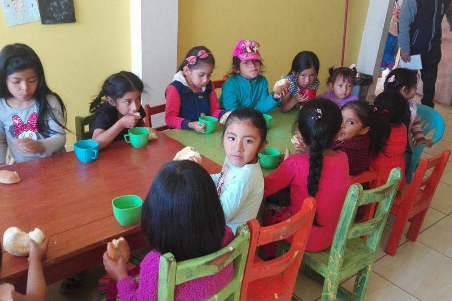 Jan 2018. Feeding program Kawsaycucho (Ayacucho)