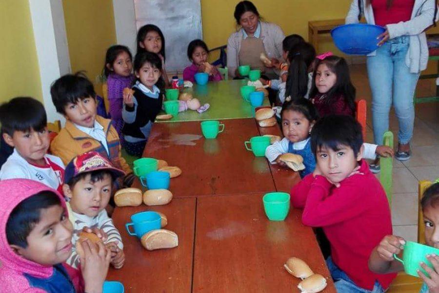 Jan 2018. Feeding program Kawsaycucho (Ayacucho).